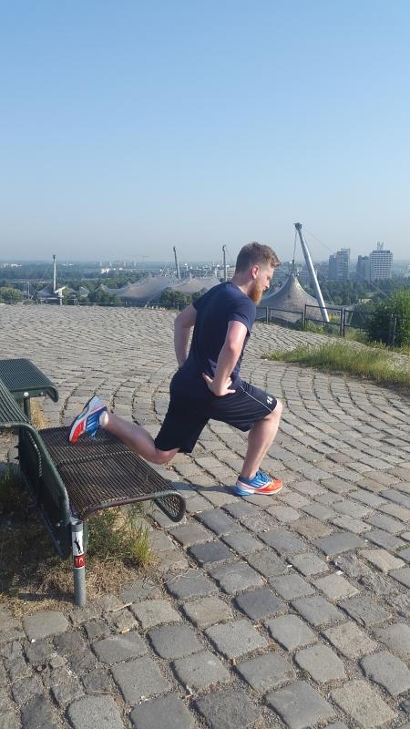 Training in München im Olypiapark