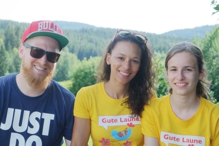 Mit Miriam und ihrer Cousine beim Wandern in Reichental