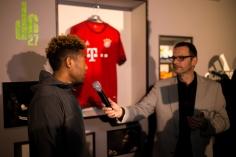 David Alaba und Georg Kovacic von Adidas