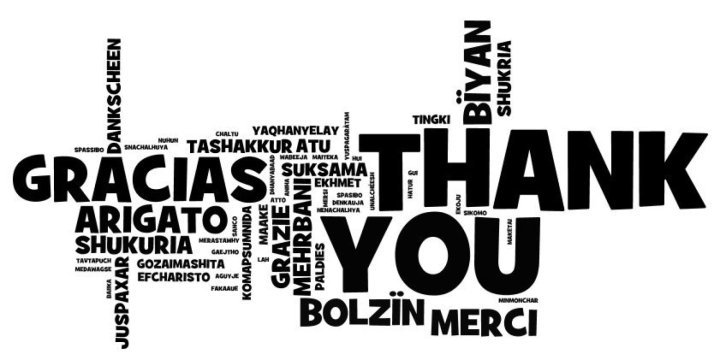 Vielen Dank | Thankyou