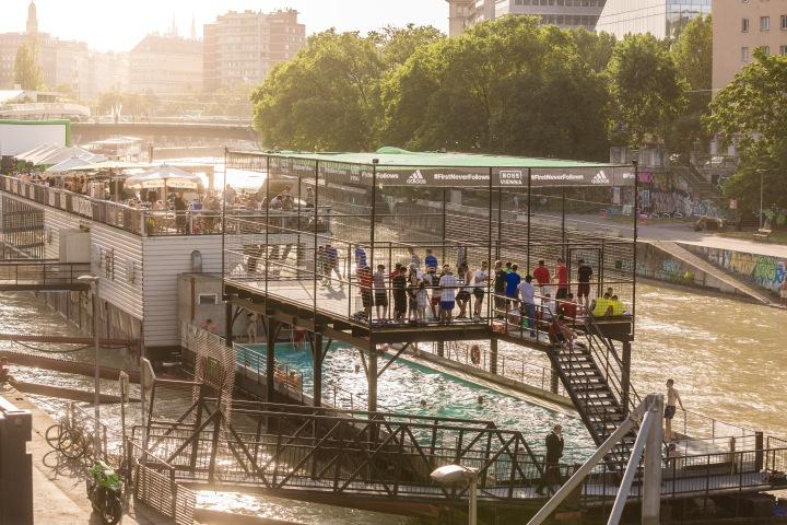 adidas Cage Opening – BadeschiffWien