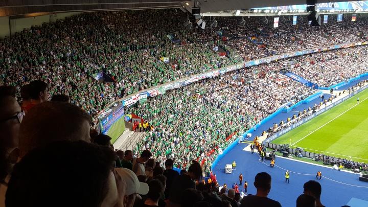 Fans bei der EURO2016